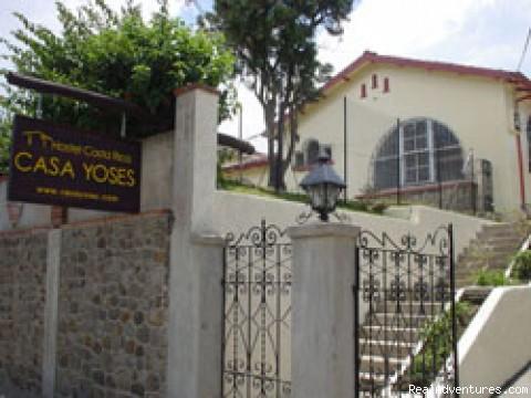 Casa Yoses Front View