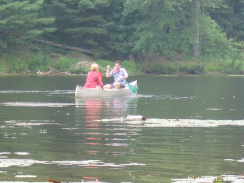 Canoe in our Lake - Nature, Comfort & Simplicity, Virginia Cottages