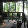 Porch overlooking lake @ 2 Cottage