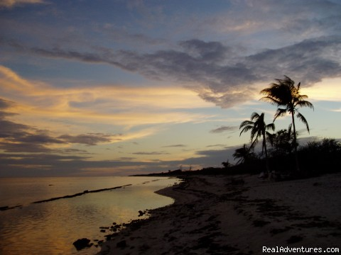 Sunset  from Conch Club Beach (#5 of 11) - Little Cayman Island - Conch Club Condos & Divers