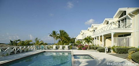 Conch Club Pool - Little Cayman Island - Conch Club Condos & Divers