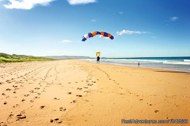 Leave your world behind - 14,000ft Tandem Beach Skydive Sydney