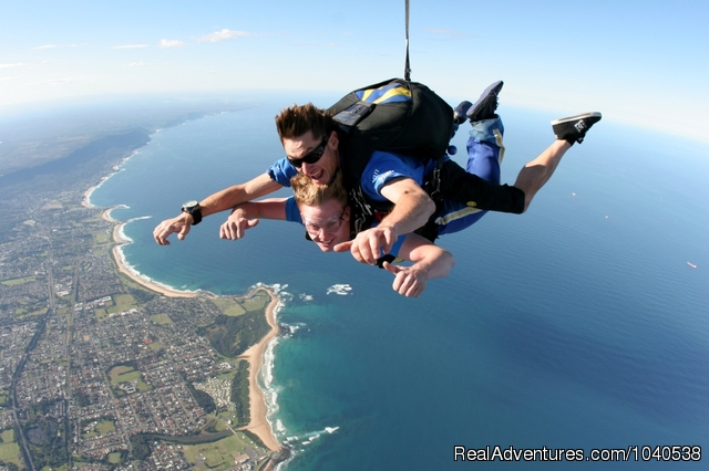 Views all the way to Sydney and beyond (#5 of 5) - 14,000ft Tandem Beach Skydive Sydney