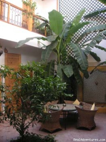Patio 1 | Image #1/7 | Marrakesh, Morocco | Bed & Breakfasts | Riad Irene in Marrakesh - Morocco