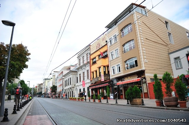 Istanbul Sultanahmet Star Holiday Hotel - front view - Cheap Hotel At Istanbul