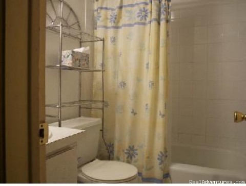Bathroom - Small But Cute! - Freeport Condo Beach Rental