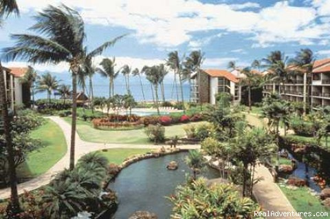 Maui, Hawaii deluxe condo for rent: tropical gardens