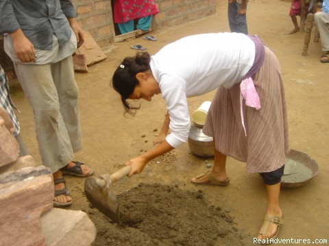 on task... - Teach English & Community Work - India, Rajasthan.