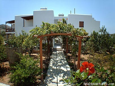 Villa Mata Pension Ios, Front View2 - Villa Mata
