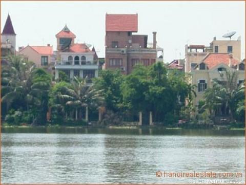 Hanoi Real Estate - Lake side Villa rent - Hanoi Real Estate Agency in Vietnam Villa Listing