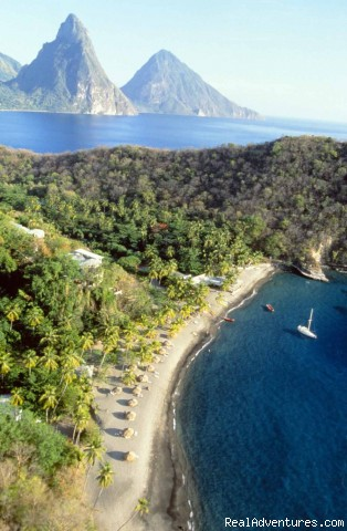 Anse Chastanet Beach - St.Lucia's Romantic Honeymoon Adventure Hideaway