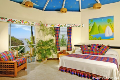 Superior hillside room - St.Lucia's Romantic Honeymoon Adventure Hideaway