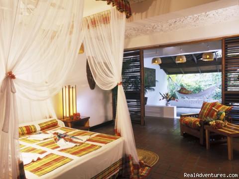 Beach deluxe room (#8 of 26) - St.Lucia's Romantic Honeymoon Adventure Hideaway