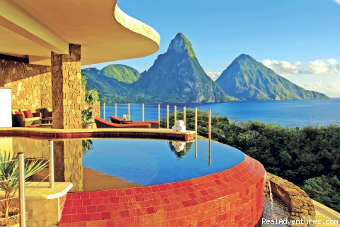 Sun sanctuary - St.Lucia's Romantic Honeymoon Adventure Hideaway