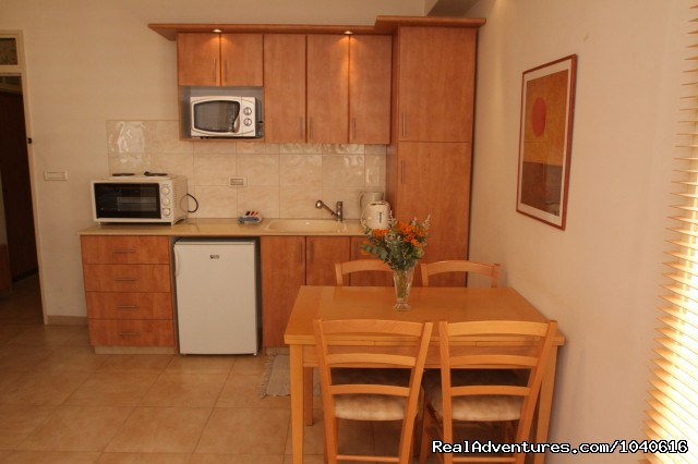 Convenient to prepare light meals - Stylish Vacation Apartments in Jerusalem