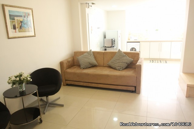 A two bedroom apartment - Stylish Vacation Apartments in Jerusalem