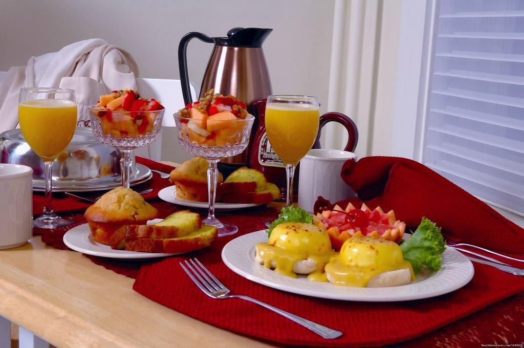 Private breakfast in your suite | Image #2/5 | The Firelight Inn on Oregon Creek Bed & Breakfast