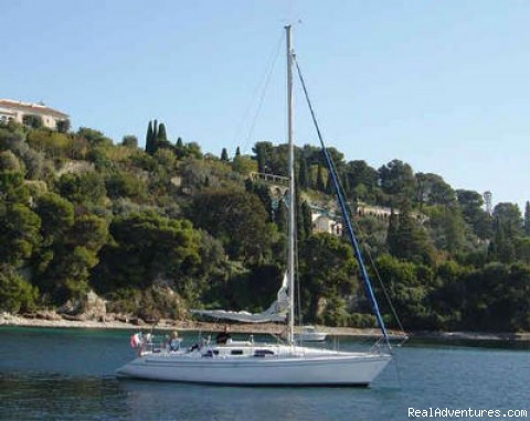 Boat on the Mediterranean Sea - B&B Romantic Stay Near Saint Paul de Vence