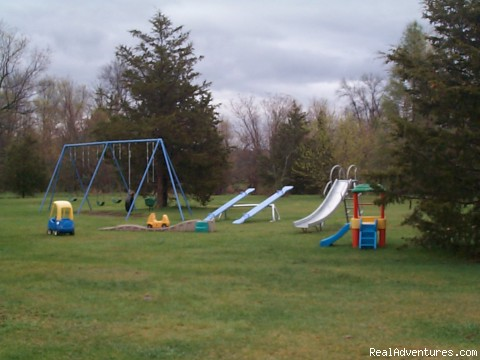 Playground # 2 - Family Camping, Cabin Rental, RV Full Hook up