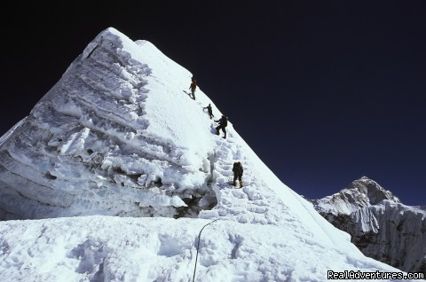 Island Peak climbing : Mountain  Monarch Nepal: Island peak climbing