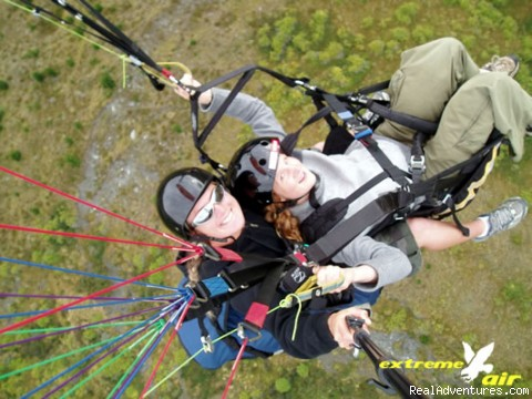 Instructional Tandem Paragliding with CFI Lisa Bradley - Hang gliding and Paragliding
