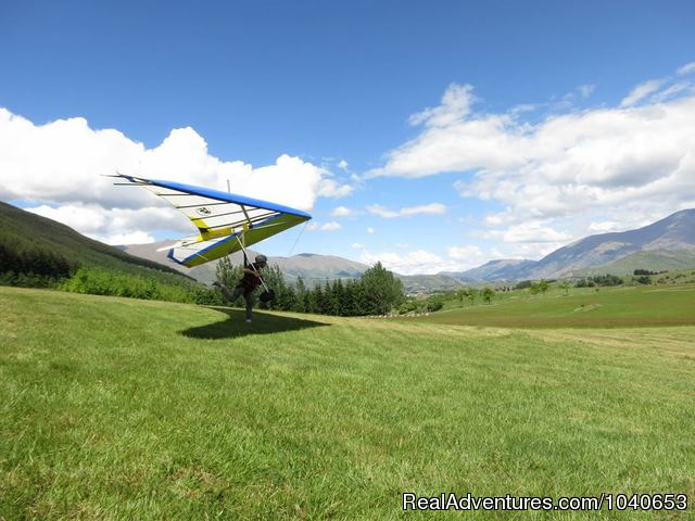 Queenstown Hang gliding course - Hang gliding and Paragliding