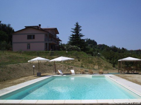 Podere Costantino, Swimming pool | Image #4/9 | Beautiful apartments along the Chianti road
