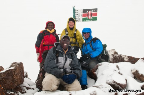 Point Lenana 4985m Mt Kenya - Climbing Mt Kenya/kilimanjaro/wildlife Safaris