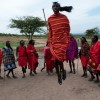Traditional Masai dance
