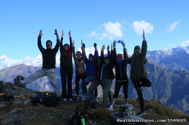 Spirit of the Himalayas Yoga Retreat - Trekking in Indian Himalayas