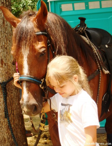 Horseback Riding in Raleigh, NC at Dead Broke Farm: Riders of All Ages