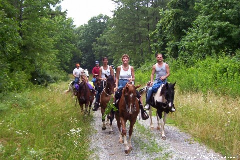 White Oak Mtn Ride - Horseback Riding in Raleigh, NC at Dead Broke Farm