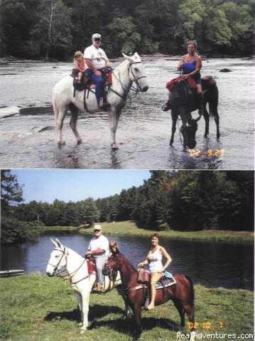 Raven Rock State Park - Horseback Riding in Raleigh, NC at Dead Broke Farm