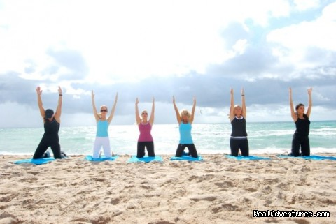Beach Stretch - Weight Loss Camp & Fitness Retreat