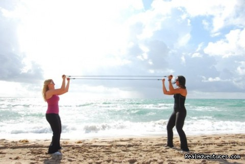 Band Work - Weight Loss Camp & Fitness Retreat
