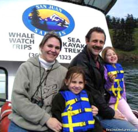 Kids plus whales = fun - Whale Watch& Wildlife Tours April - October