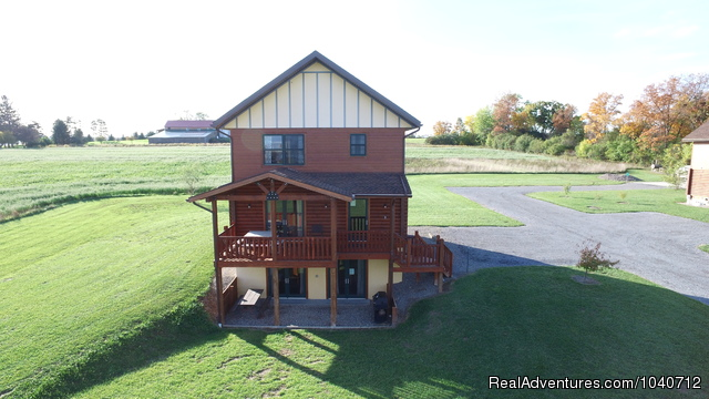 Conesus Log Home at Cobtree - Cobtree Vacation Rental  Resort - Finger Lakes, NY