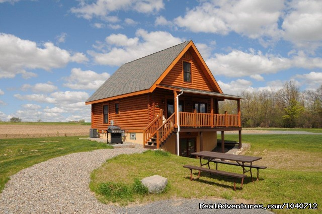 Otisco Log Home at Cobtree - Cobtree Vacation Rental  Resort - Finger Lakes, NY
