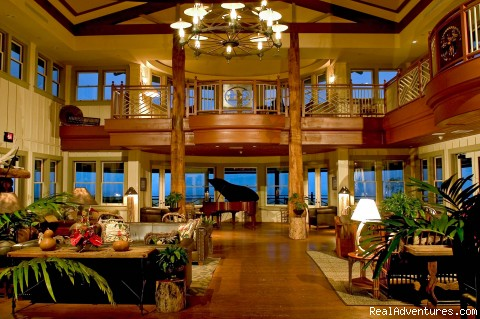 The Lodge - Living Room - The Lodge & Beach Village at Molokai Ranch