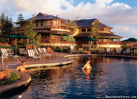 The Lodge - Heated Outdoor Infinity Pool - The Lodge & Beach Village at Molokai Ranch