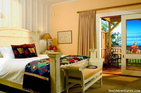 The Lodge - Luxury guest room - The Lodge & Beach Village at Molokai Ranch
