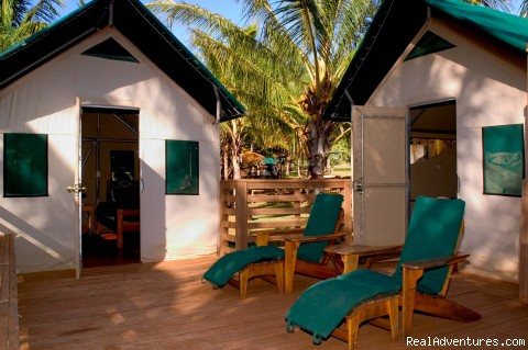 The Beach Village - Two Bedroom Tentalow - The Lodge & Beach Village at Molokai Ranch
