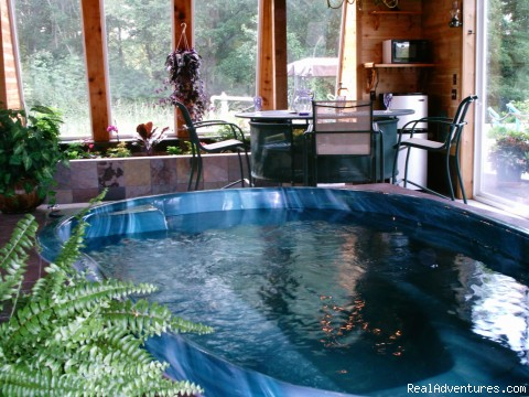 Indoor Garden Spa Room (#2 of 5) - Copperwood B&B