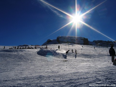 FAMOUS SNOWBOARD PARK GROSTE - Skiing In Italy
