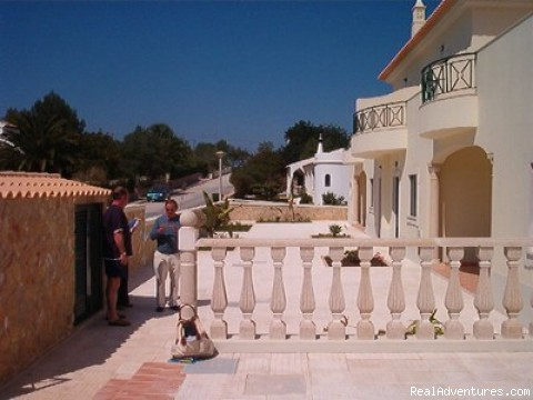 Front view - Holiday rentals in the Algarve