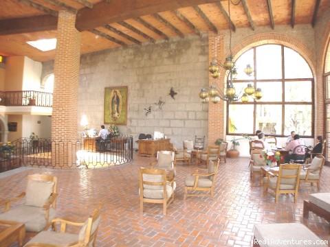 Panoramic lobby view (#3 of 10) - Hotel Hacienda del Molino