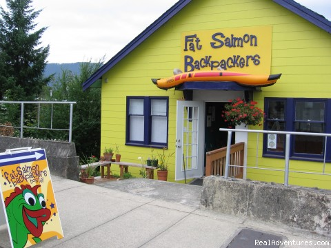 Cheap and Groovy Hostel in Uptown Port Alberni: Front View