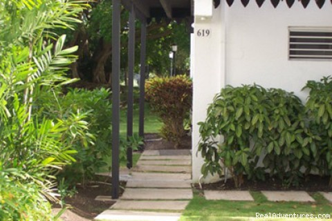 Entrance - Barbados Vacation Rental Rockley Golf Resort
