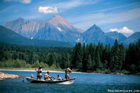 Spectacular Fishing - Family Adventure at Glacier National Park