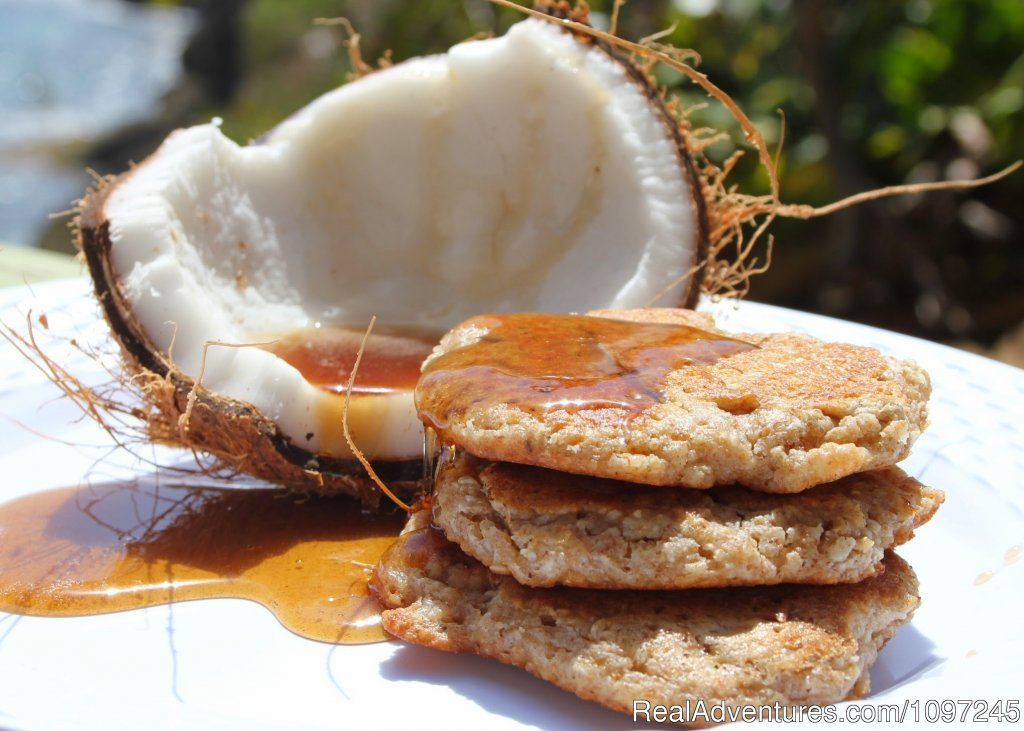 Wow Whole Grain Coconut Pancakes | Image #3/22 | Back to Eden Strawberry Fields Together Jamaica